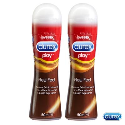 Durex杜蕾斯 真觸感情趣潤滑液50ml 2入