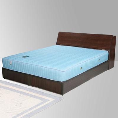 Homelike 諾雅5尺床組+獨立筒床墊-雙人(二色任選)