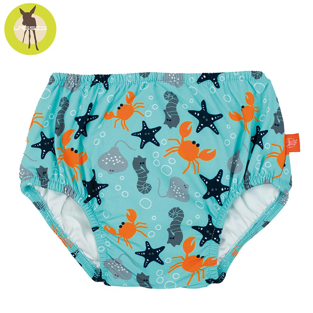 德國Lassig-嬰幼兒抗UV游泳尿布褲--小海星