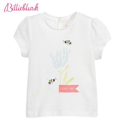 Billyblush採蜜季節白色T恤