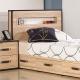 居家生活 溫德3.5尺橡木紋單人床頭片(不含