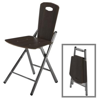 【COLOR】巧折木紋椅(2入)