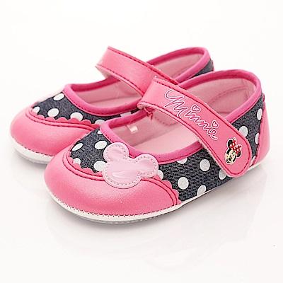 迪士尼童鞋 普普風淘氣米妮學步款 ON17207桃(寶寶段)T2