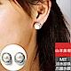 山本美樹 MIT千迴 奧地利鑽淡水珍珠耳環 product thumbnail 1