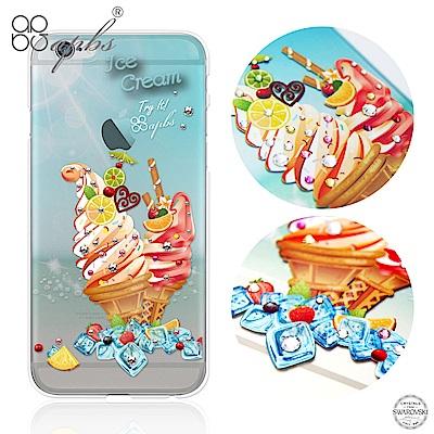 apbs iPhone6s/6 4.7吋 施華洛世奇彩鑽手機殼--冰淇淋去冰