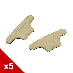 糊塗鞋匠 優質鞋材 F28 T字防磨後跟貼 (5雙/組)