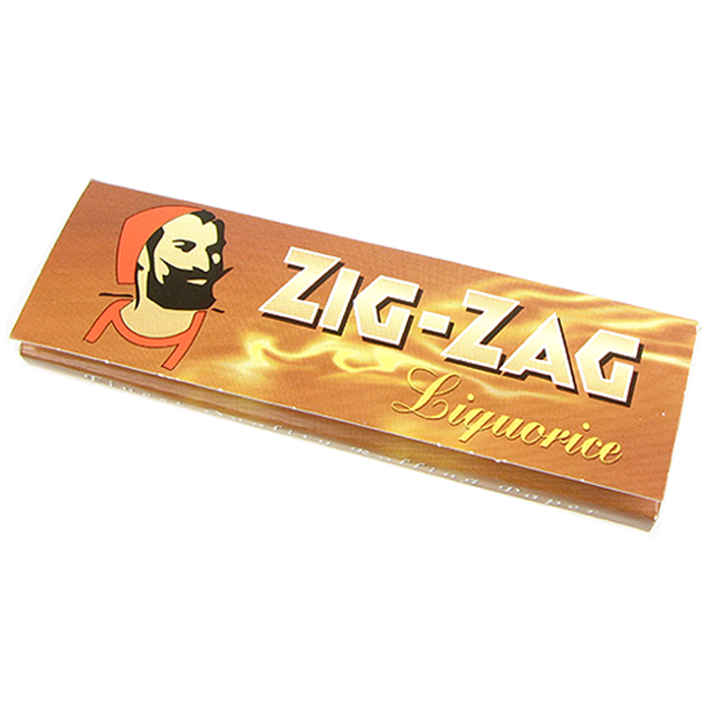 ZIG-ZAG 法國進口捲煙紙-Liquorice 甘草*5包
