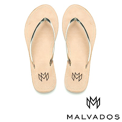 【Malvados 魅凡朵】人字拖 Lux Leatherr 《亮片皮革》