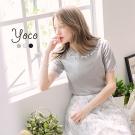 東京著衣-yoco 唯美舒適多色針織上衣-S.M.L(共三色)