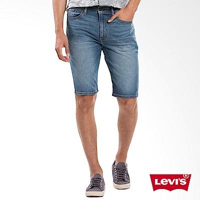 505牛仔短褲刷白Levis-動態show