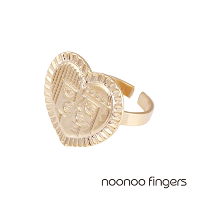 Noonoo Fingers Ra & Shu Ring 埃及太陽神與大氣神 戒指