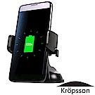 One Touch 韓國Kropsson三星閃充 iPhone 無線充電車架 - 吸盤款
