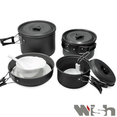 《WISH》五人份鋁合金套鍋13件組