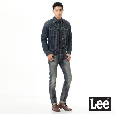 Lee-牛仔Vintage-Laundry-外套-男款-深藍