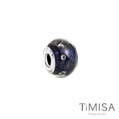 TiMISA 午夜(11MM)》純鈦琉璃 墜飾串珠