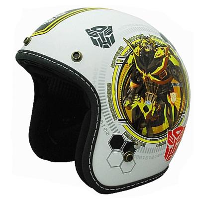 變形金剛安全帽 382D 大黃蜂彩繪系列(白色)