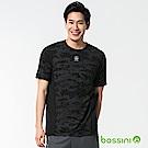 bossini男裝-超冰涼觸感T恤黑