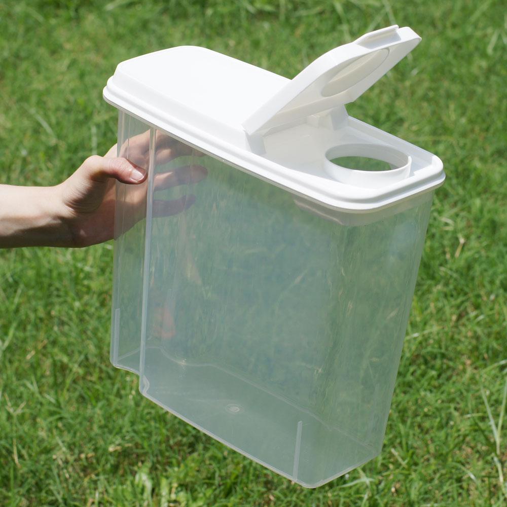 寵物飼料零食、透明儲存桶