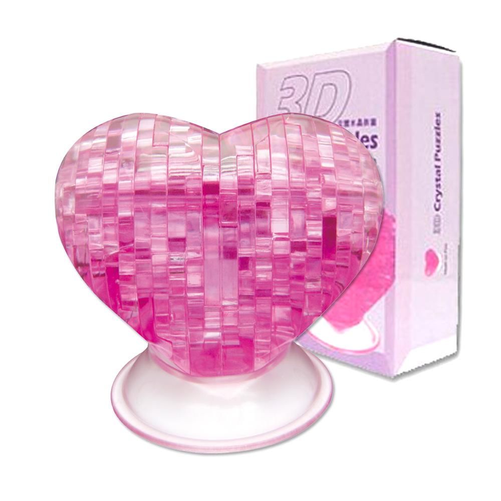 《立體水晶拼圖》3D Crystal Puzzles邱比特之心