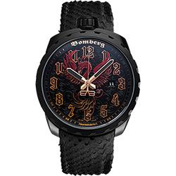 BOMBERG 炸彈錶 BOLT-68 FENIX 火鳳凰機械錶-黑/45mm