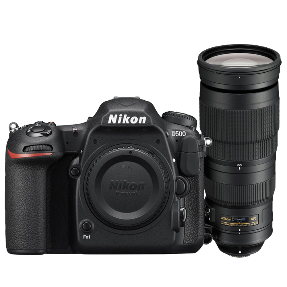 Nikon D500+AF-S 200-500mm f/5.6E ED VR*(平輸中文) product image 1