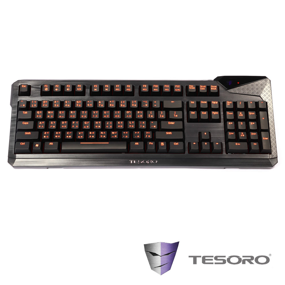 ★TESORO鐵修羅 杜蘭朵終極版 機械式鍵盤(青軸-中文版)