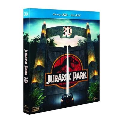侏羅紀公園  (3D+2D) Jurassic Park  雙碟版  藍光  BD
