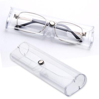 kiret 軟式 透明眼鏡盒2入-附贈超細纖維 眼鏡布2入