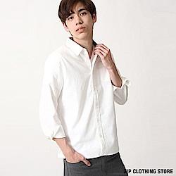 巴拿馬長袖襯衫(12色) ZIP日本男裝