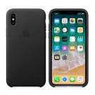 Apple 原廠 iPhone X 皮革護套 ( 黑 )