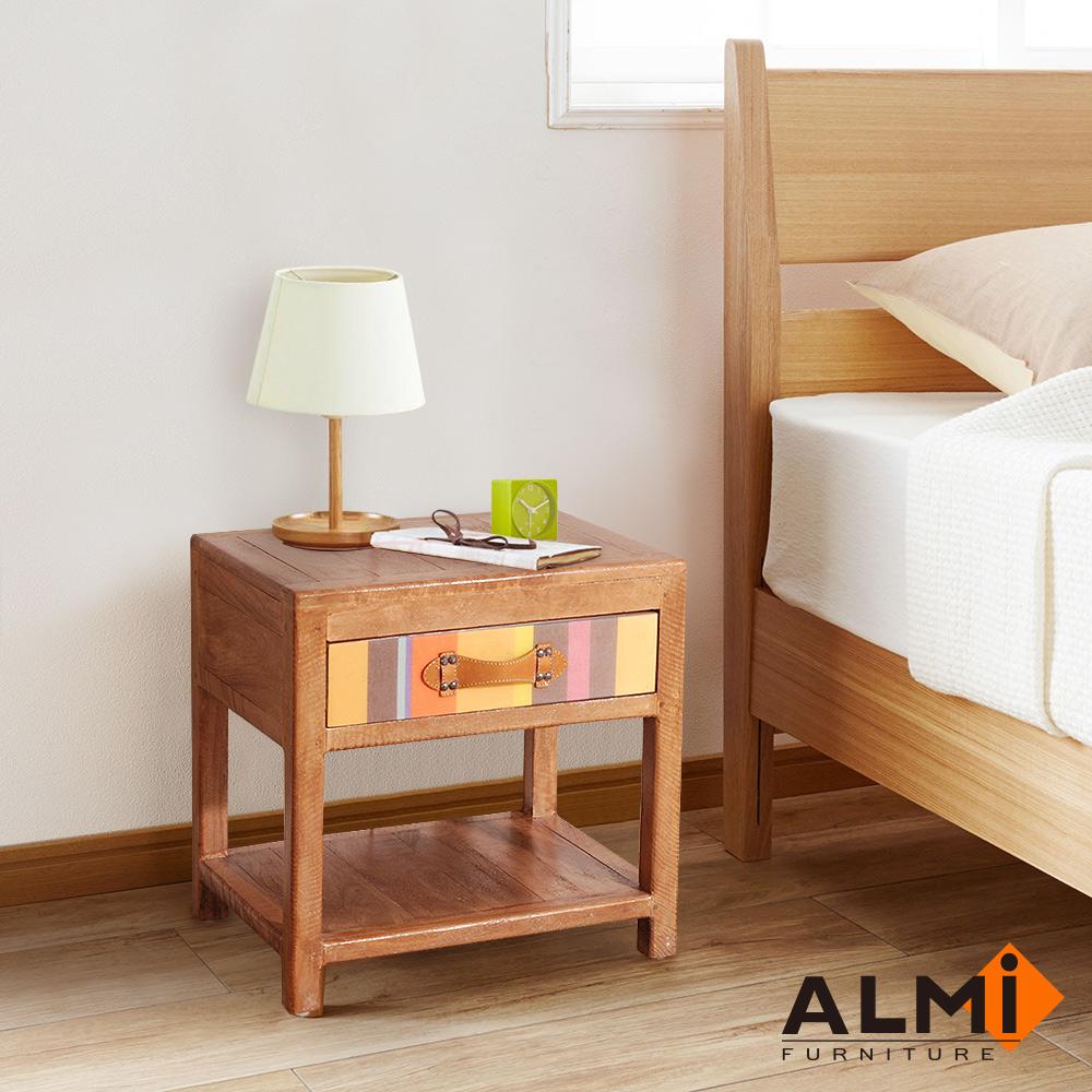 ALMI-BEDSIDE 1 DRAWER 床頭櫃W50*D40*H50CM
