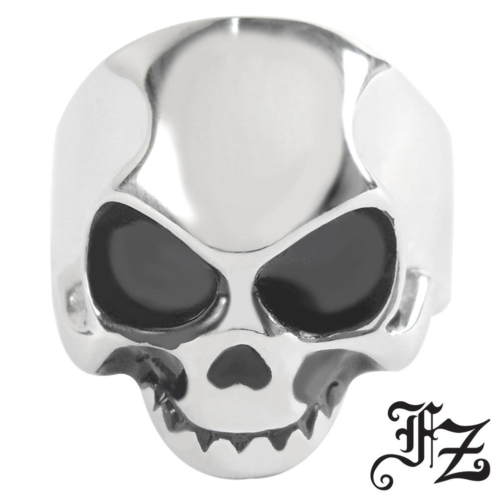 【FZ】魔戒骷髏造型白鋼戒(美圍可選)