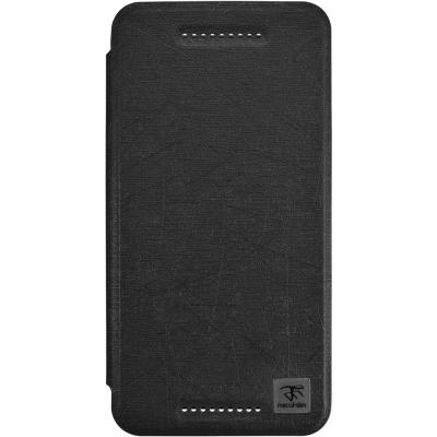 Metal-Slim HTC Desire 826 髮絲紋側翻立架皮套
