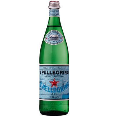 S.Pellegrino聖沛黎洛 天然氣泡礦泉水(750mlx12入)