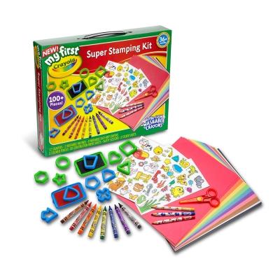 美國crayola 繪兒樂 幼兒印章塗鴉超值組(3Y+)