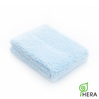HERA 3M專利瞬吸快乾抗菌超柔纖-多用途洗臉巾-晴空藍