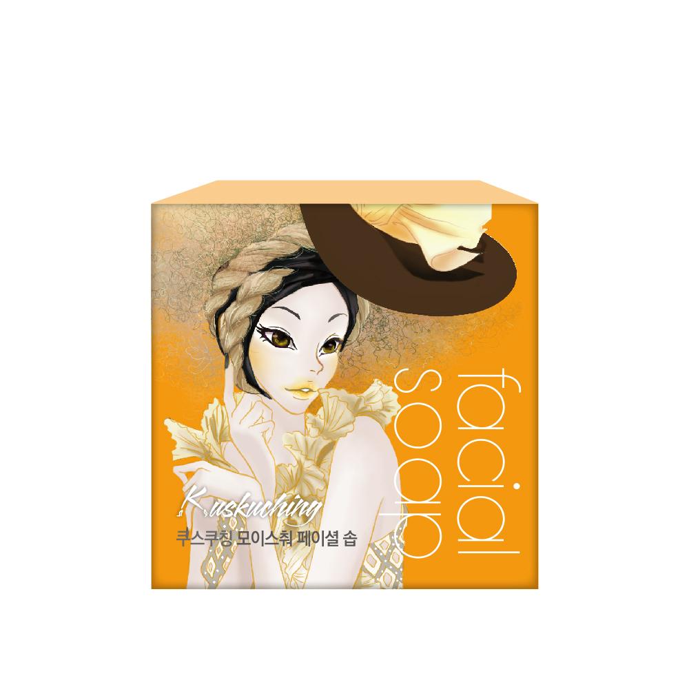 Kuskuching貓吻 香氛深層滋潤美肌皂80g