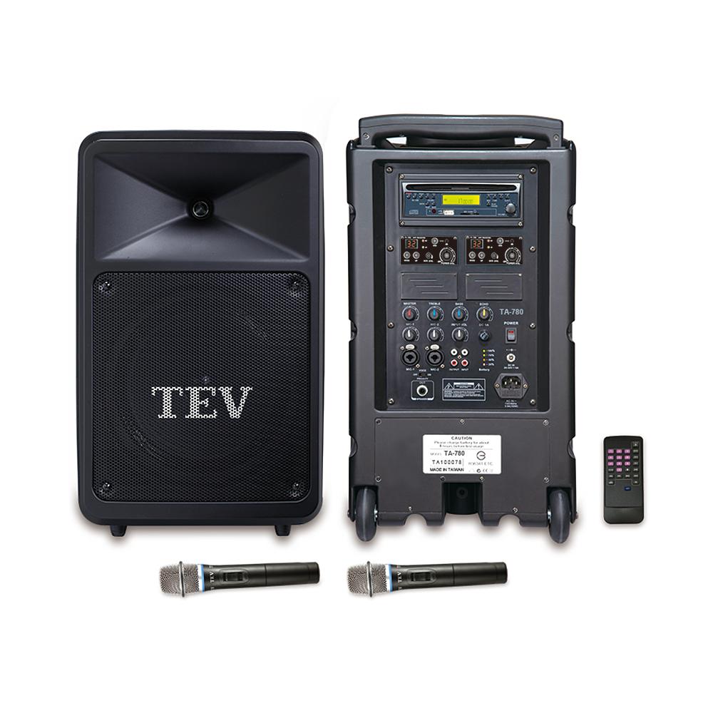 TEV CD/USB/SD雙頻無線擴音機 TA780C-2