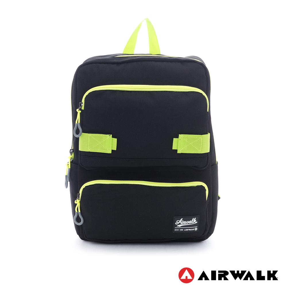 美國AIRWALK背後減壓設計筆電後背包