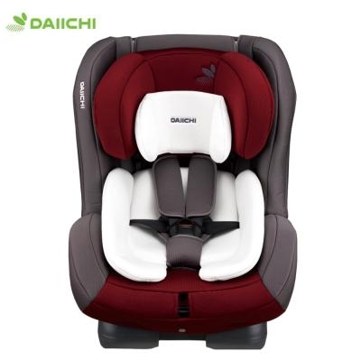 韓國DAIICHI 大七 FIRST 7 Carseat奢華版0-7歲安全座椅(葡萄紅)