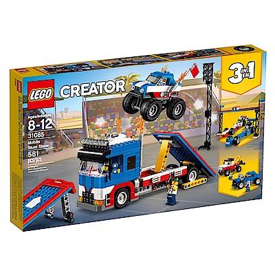 LEGO樂高 3合1創作系列 31085 飛車特技秀