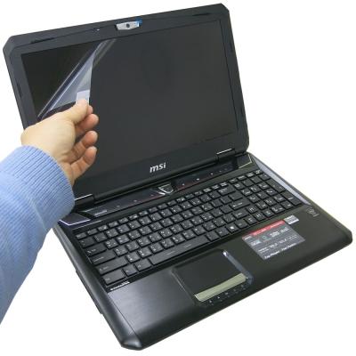 EZstick MSI GT60 2QE 專用 靜電式筆電LCD液晶螢幕貼