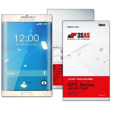 iMOS Samsung Note 5 3SAS 疏油疏水 螢幕保護貼