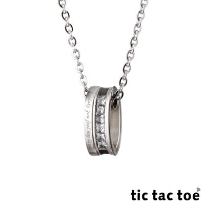 tic tac toe - feel my love 白鋼男項鍊