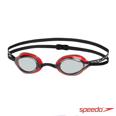 SPEEDO 成人 競技泳鏡 SPEEDSOCKET 紅