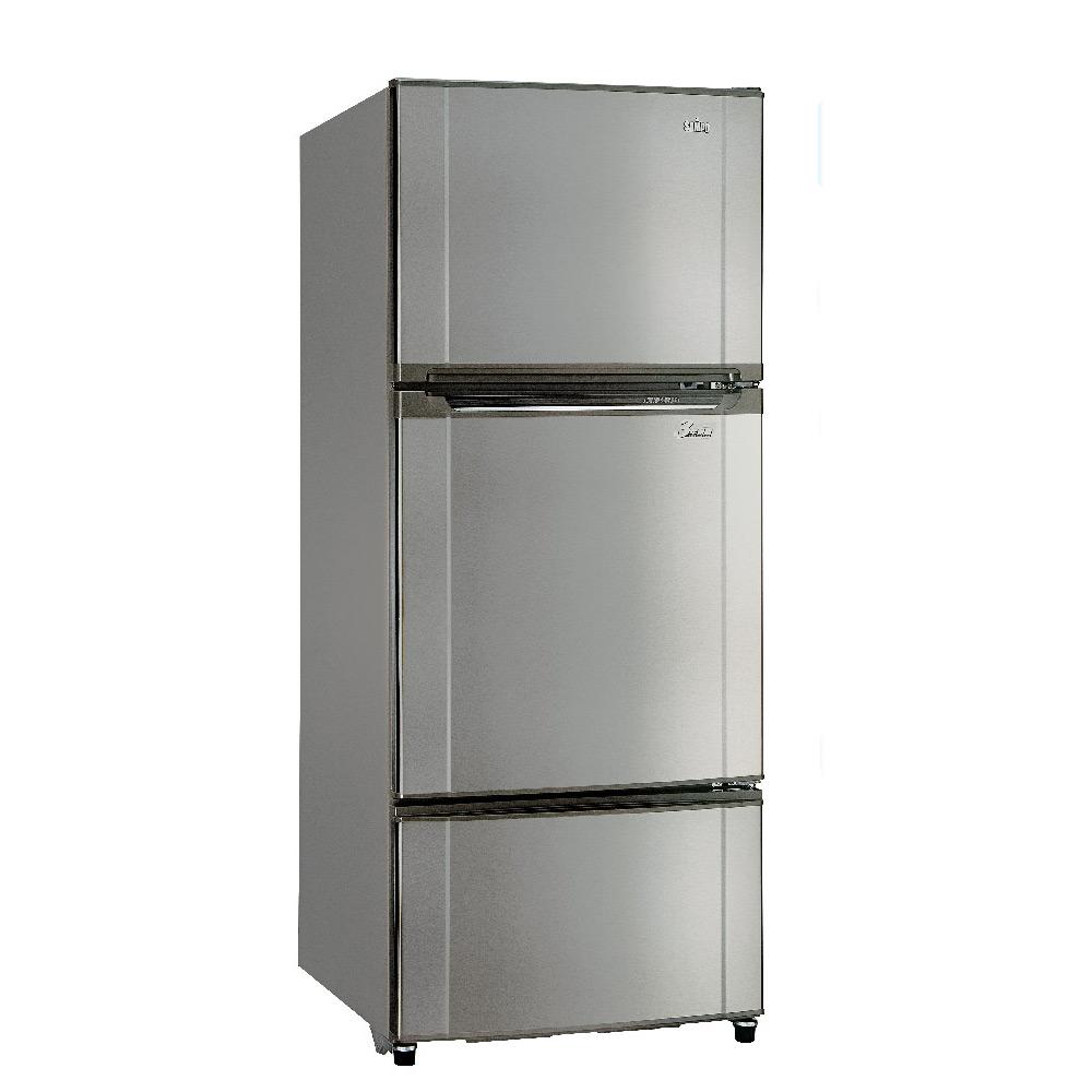 [限時殺]聲寶580L定頻三門電冰箱SR-K58GV(S3)