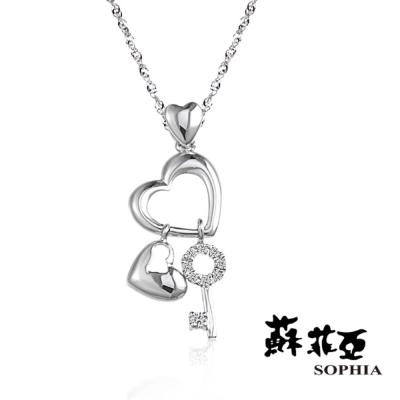 蘇菲亞SOPHIA - 菲比 0.04克拉鑽鍊