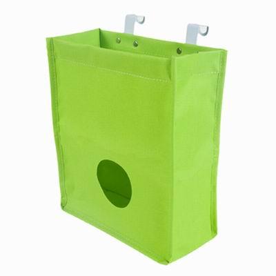 iSFun 掛袋收納 牛津門後收集掛袋 隨機色26.5x23x10.5cm