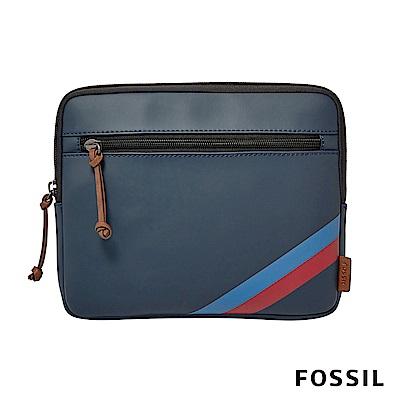 FOSSIL TECH 筆電防震保護包-藍色