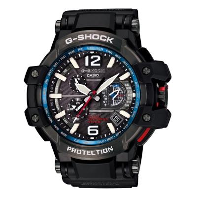 G-SHOCK 世界首款同步搭載高性能GPS電波概念錶(GPW-1000-1A)-56mm